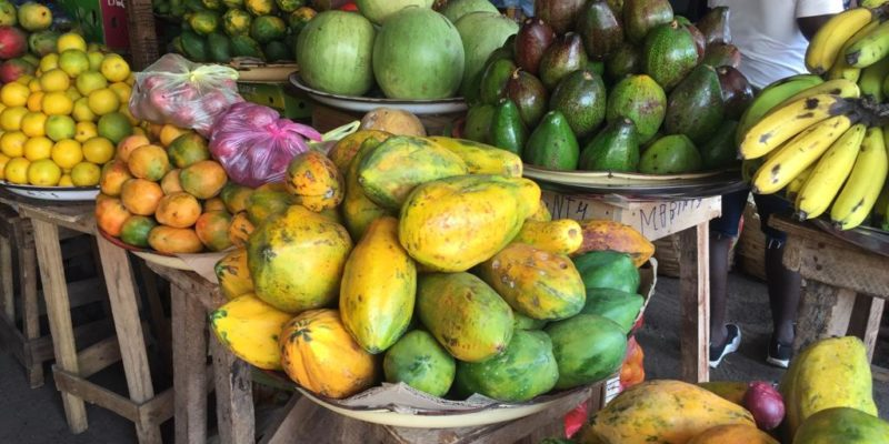 African plants, fruits and vegetables